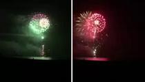Khloe Kardashian & James Harden -- Set Off HUGE Birthday Fireworks ... City Officials PISSED! (VIDEO)