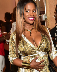 Kandi Burruss Puts Baby Bump on Display with Hubby Todd Tucker