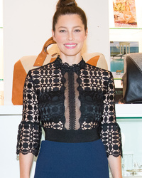 Jessica Biel Shows Off Post-Baby Bod at First Event Since Welcoming Son Silas!