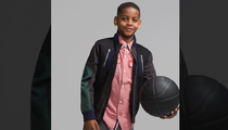 Carmelo Anthony -- My Kid's Modeling for Sean John!