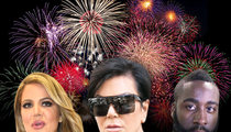 Kardashians -- Beach Residents To Sue Family Over Terrifying Fireworks Show