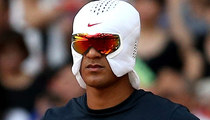 Nike's Ice Hat -- The Latest WTF Trend For Athletes ... Cool? (PHOTOS