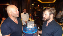 Randy Couture -- For My Son's Birthday We'll Be In The Octagon Toget