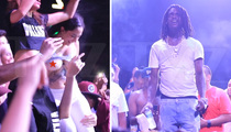 Chief Keef -- Gets Flashed By Fan ... Forgets Everything!! (VIDEO)