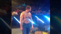WWE Superstar Dean Ambrose -- Fan Attempts Sneak Attack after Smackdown (VIDEO)