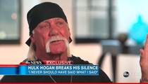 Hulk Hogan On N-Word Scandal -- I Wanted to Kill Myself