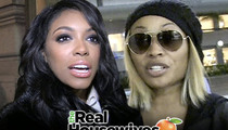 Porsha Williams -- Kicked In The Gut ... By 'RHOA' Co-Star