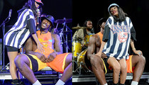 Teyana Taylor Gives BF Iman Shumpert Sexy Lap Dance During NY Performance (P