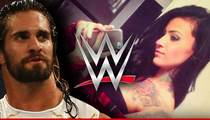 WWE Seth Rollins' Girlfriend -- Fired for Nazi Pics