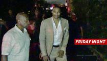 Russell Westbrook -- Hits Hollywood Nightclub ... Night Before Wedding