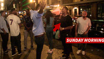NFL's Victor Cruz -- PROVE YOU'RE NOT DRUNK ... Gives Pal DUI Test