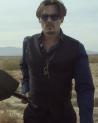 Johnny Depp Brings the Heat In New Dior Sauvage Commercial