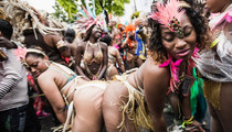 A Million Hit the Streets for Notting Hill Carnival -- See the Sexy Costumes