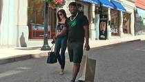 Yasiel Puig -- Versace Shopping Spree ... In Bev Hills
