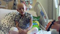7-Year-Old Cancer Patient -- Duet With Favorite