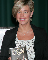 "Kate Gosselin Reacts to Justin Bieber's ""Kate Plus 8"" Hair: ""He Can Have It"""
