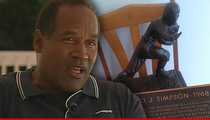 O.J. Simpson's Heisman -- Man Charged with Stashing Trophy ... For 20 Years