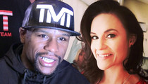 Floyd Mayweather -- Gives Ringside T