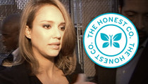 Jessica Alba's The Honest Company -- Sued For Being Not So Honest