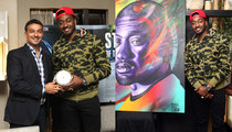 NBA's John Wall -- Gets $20k Portrait From Famed Street Artist