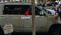 Caitlyn Jenner -- Near Miss, Bad Timing (VIDEO)