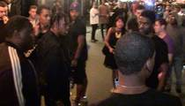 Rapper Travis Scott -- Lunges at Fan ... I'm NOT A$AP Rocky!!! (VIDEO)