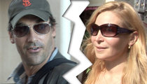 Jon Hamm & Jennifer Westfeldt -- Breaking Up