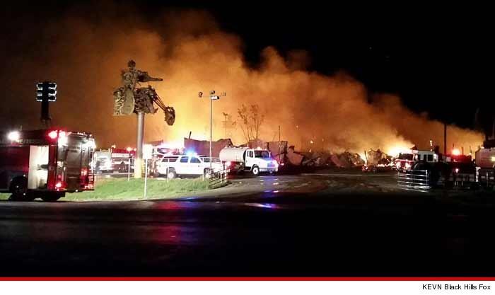 The world s largest biker bar full throttle saloon burned to the