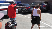 'Dancing with the Stars' -- Pepper Spray Standoff at Rehearsals (VIDEO)