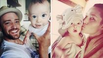 Justin Timberlake, Jessica Biel -- Meet Our Kid (PHOTOS)