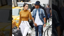 Lewis Hamilton -- I've Got Kendall Jenner's Back Again ... at Fashion Week (PHOTO)