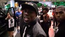 Andre Berto Talks Crap on Mayweather ... He Doesn't Fight, He Runs (VIDEO)