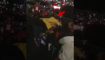 49ers/Vikings Fans Brawl -- Security Guard to the Rescue ... Hero to Be Honored (VIDEO)