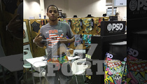 Cordell Broadus -- Screw Football ... I'm Designing Men's Underwear