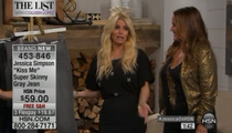 Jessica Simpson -- Dazed and Confused on Home Shopping Network