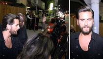 Scott Disick -- Wasted ... But These Girls Will Do (VIDEO)