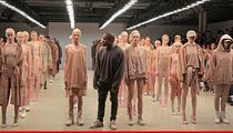 Kanye West -- Models Come Up ... Yeezys for All!!