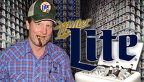 Rooster McConaughey -- Free Miller Lite ... Less Filling Than You'd Think