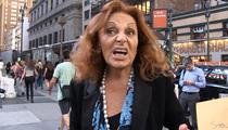 Diane Von Furstenberg -- My Vote's for Jeb 'Fashionista' Bush!!! (VIDEO)