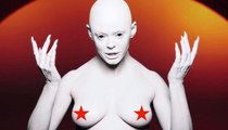10 Outrageous Moments From Rose McGowan's New NSFW Music Video