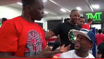 Floyd Mayweather -- 'Man, Let Nick Diaz Smoke Weed!'