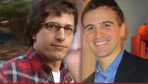 Andy Samberg Vs. Andy Sandberg -- Haters, Get It Straight!!!