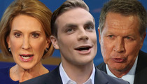 Hot Debate Guy -- Republican Candidates Scramble for His Support