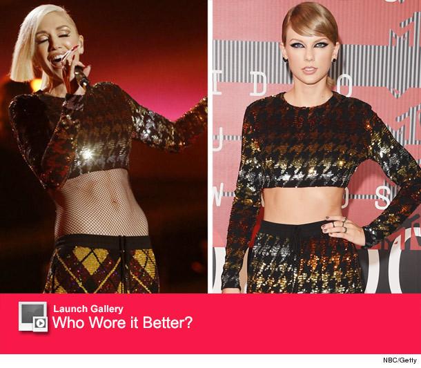 Dueling Designer Duds: Gwen Stefani vs. Taylor Swift ...