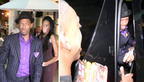 Nick Cannon -- Chows Down with New, Famous Girl (VIDEO)