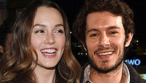 Leighton Meester & Adam Brody -- We Had a Girl ... Named Arlo