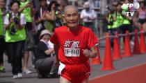 105-Year-Old Sprinter -- SETS WORLD RECORD ... Celebrates Like Usain