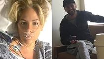 Kim Zolciak -- Practices 'DWTS' Dance Moves In Hospital Room