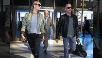 Rosie Huntington-Whiteley & Jason Statham -- The Most Badass Airport Duo Ever