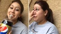 A Girl Drinks Pepsi For the First Time...Her Reaction is PRICELESS